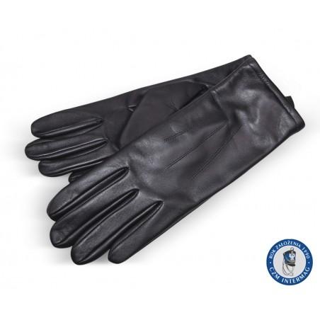 Rękawiczki zimowe skórzane
