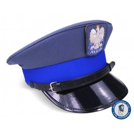 Czapka garnizonowa POLICJA
